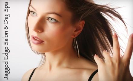 Jagged Edge Salon & Day Spa: Men's or Women's Haircut - Jagged Edge Salon & Day Spa in Las Vegas