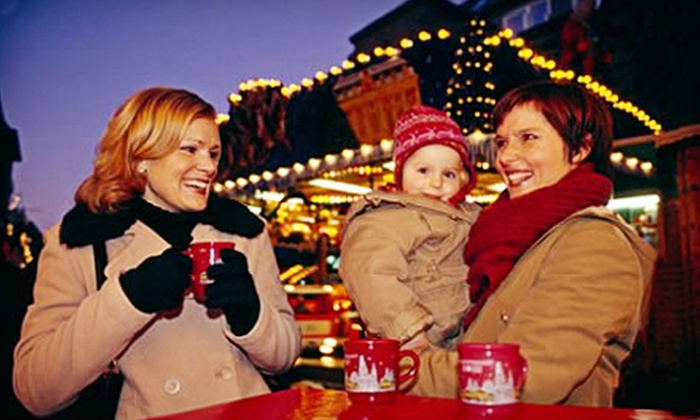Vancouver Christmas Market - Downtown Vancouver: Outing for Two to Vancouver Christmas Market November 24–December 24 (Up to Half Off)
