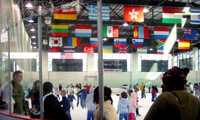 Indiana/World Skating Academy - Indianapolis: $3 for One Ice-Skating Admission with Skate Rental at Indiana/World Skating Academy (Up to $7.50 Value)