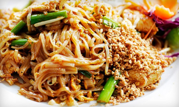 Bangkok Cafe - Downtown: Thai Meal with Appetizer and Entrees for Two or Four at Bangkok Cafe (Up to 57% Off)