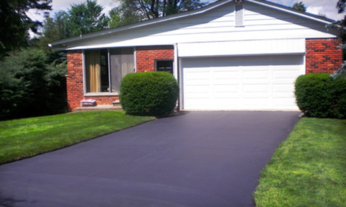 Birmingham Sealcoat, Inc. - Auburn Hills: Seal-Coating Package for a Two- or Three-Car Driveway from Birmingham Sealcoat, Inc. (Up to 53% Off)