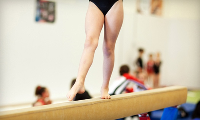 Byers Gymnastics Center - Multiple Locations: $29 for One Month of Kids' Gymnastics Classes at Byers Gymnastics Center (Up to $105 Value)