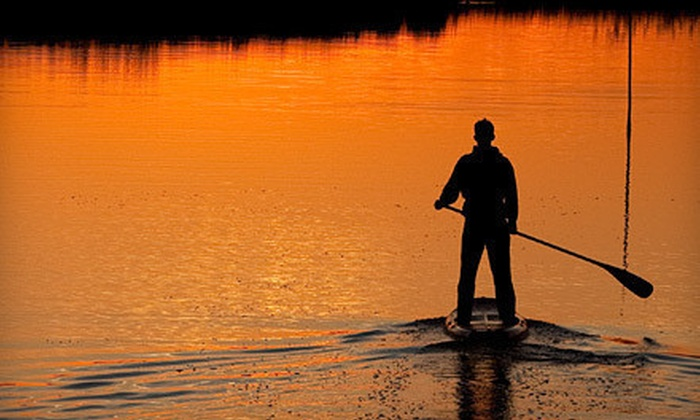 Local Paddler - Multiple Locations: Two-Hour Stand-Up Paddleboard Daytime Course for One or Evening Course for Two at Local Paddler (55% Off)