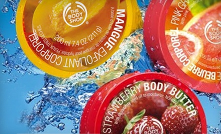 $20 Groupon to The Body Shop: 4999 Old Orchard Center in Skokie - The Body Shop in Skokie