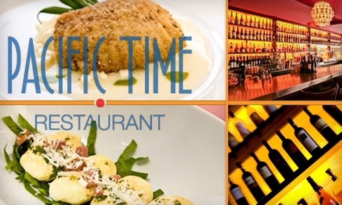 Pacific Time - Little Haiti: $25 for $60 Worth of Fine Dining and Drinks at Pacific Time