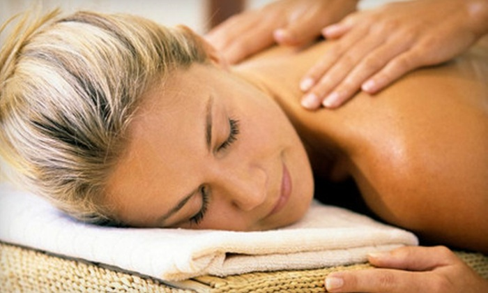 Fringe Hair & Body Salon - Harbor Cove: One or Three Massages or Massage and Lavender Body Scrub at Fringe Hair & Body Salon in Mooresville (Up to 58% Off)