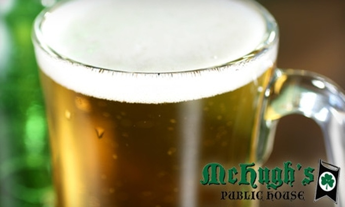 McHugh's Public House - Minneapolis / St Paul: $7 for $15 Worth of Pub Grub and Drinks at McHugh's Public House in Savage
