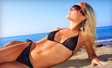 1 Natural and Organic-Spray Tan Session (a $30 value) - Shade Natural and Organic Spray Tanning in Acworth