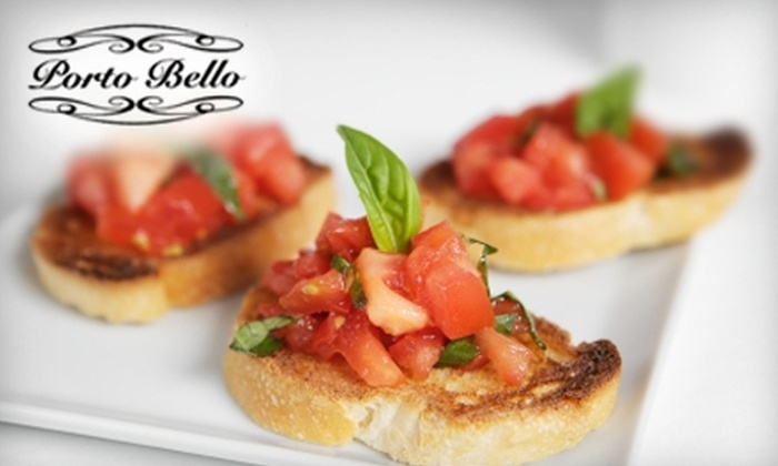 Porto Bello - Shrewsbury Street: $10 for $20 Worth of Italian Fare at Porto Bello