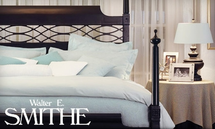 Walter E. Smithe - Multiple Locations: $75 for $150 Worth of Home Furnishings at Walter E. Smithe