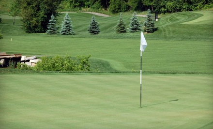 18 Holes of Golf for 2 People with a Cart Monday-Thursday - Riverstone Golf & Country Club in Brampton