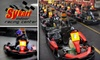 Sykart Indoor Racing - Tukwila: $40 for Four Racing Sessions and a One-Year Membership to Sykart Indoor Racing Center