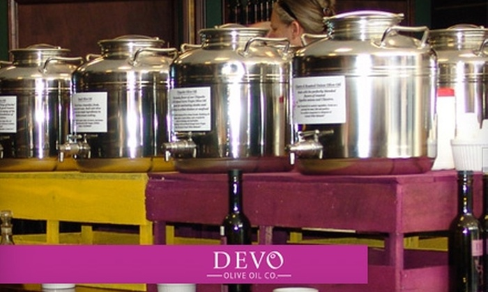 Devo Olive Oil Co. - Branson: $15 for $30 Worth of Gourmet Oil, Vinegar, and More at Devo Olive Oil Co.