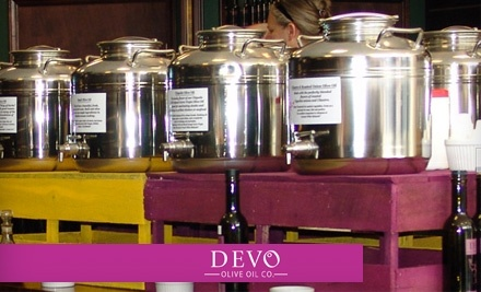$30 Groupon to Devo Olive Oil Co. - Devo Olive Oil Co. in Branson