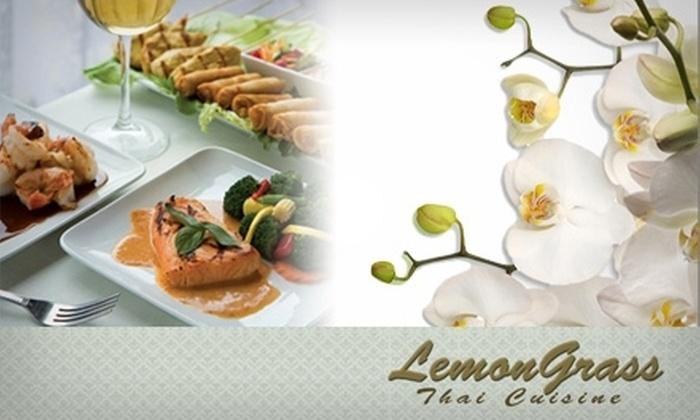 Lemongrass Thai Cuisine - Cleveland Heights: $9 for $20 Worth of Tasty Thai Fare at Lemongrass Thai Cuisine