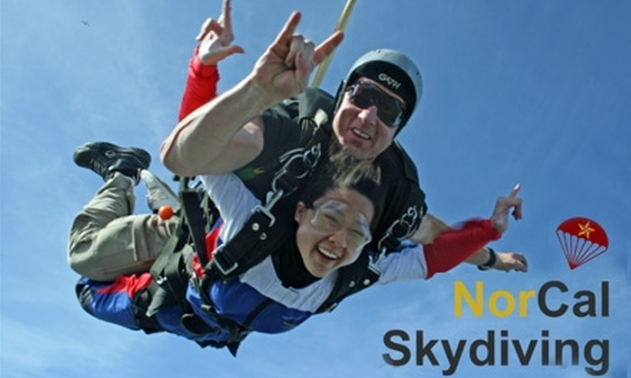 NorCal Skydiving - Cloverdale: $125 for a Tandem Jump with NorCal Skydiving in Sonoma County (Up to $199 Value)