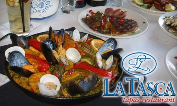 La Tasca Restaurant Chicago - Arlington Heights: $15 for $30 Worth of Tapas, Paella, and More at La Tasca Tapas Restaurant in Arlington Heights
