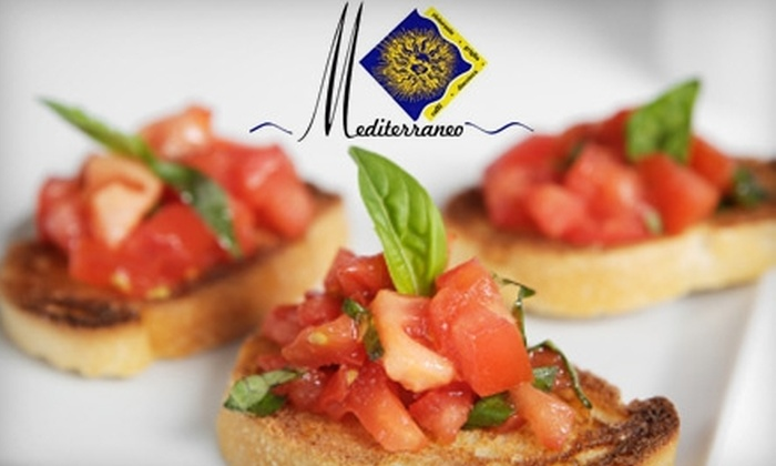 Mediterraneo - Federal Hill: $25 for $50 Worth of Italian Fare And Drinks at Mediterraneo