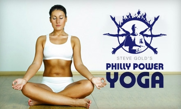 Philly Power Yoga - Center City West: $25 for Five Drop-in Classes at Philly Power Yoga ($65 Value)