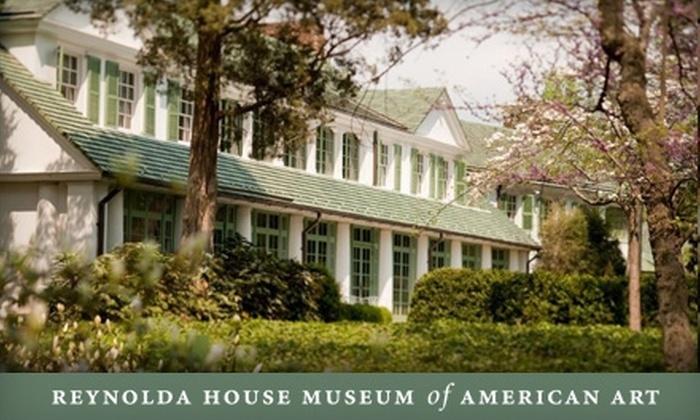 Reynolda House Museum of American Art - Summit: One-Year Membership to Reynolda House Museum of American Art. Choose Between Two Options.