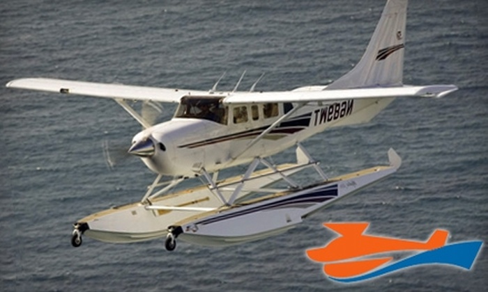 Seaplane Tours - Miami Beach: $198 for a Sky Tour of Miami for Up to Four People from Seaplane Tours in Miami ($396 Value)
