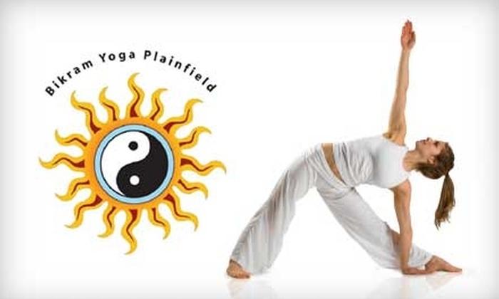 Bikram Yoga Plainfield - Plainfield: $40 for 10 Classes at Bikram Yoga Plainfield ($125 Value)