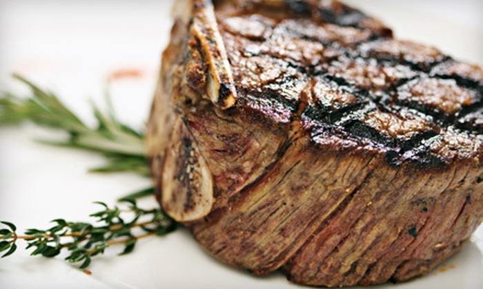 Garlic & Shots - Parkside at the Galleria: $15 for $30 Worth of Steak-House Fare at Garlic & Shots in Tempe