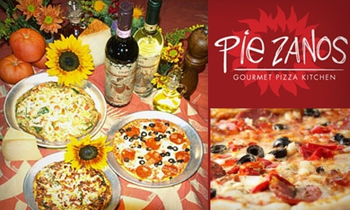 Pie Zanos - Bell/Greenway Neighborhood: $12 for $25 Worth of Gourmet Pizza and More (with Gluten-Free and Vegetarian Options) at Pie Zanos Gourmet Pizza Kitchen