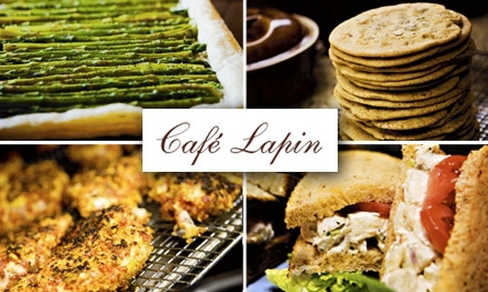 Café Lapin - Peachtree Hills: $10 for $25 Worth of French Bistro Fare at Café Lapin