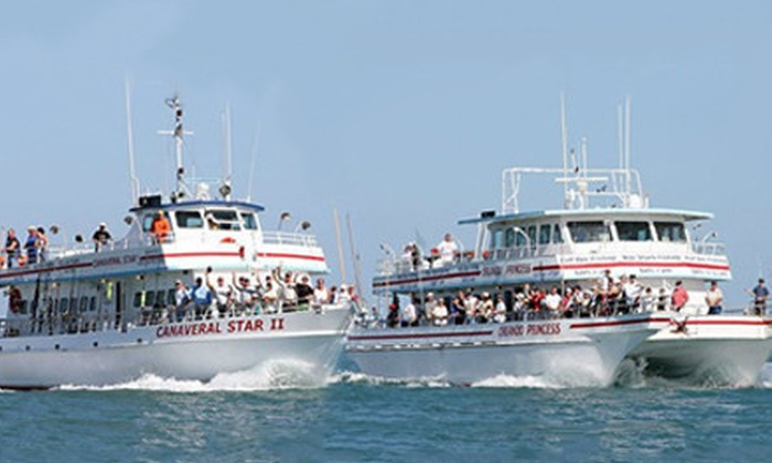Orlando princess in cape canaveral florida groupon for Cape canaveral fishing