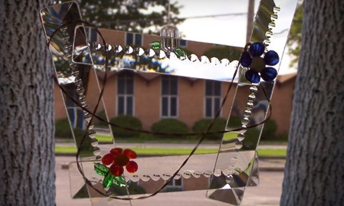Custom Stained Glass - Southgate: $35 for a Create-Your-Own-Stained-Glass-Sun-Catcher Class at Custom Stained Glass in Southgate (Up to $140 Value)