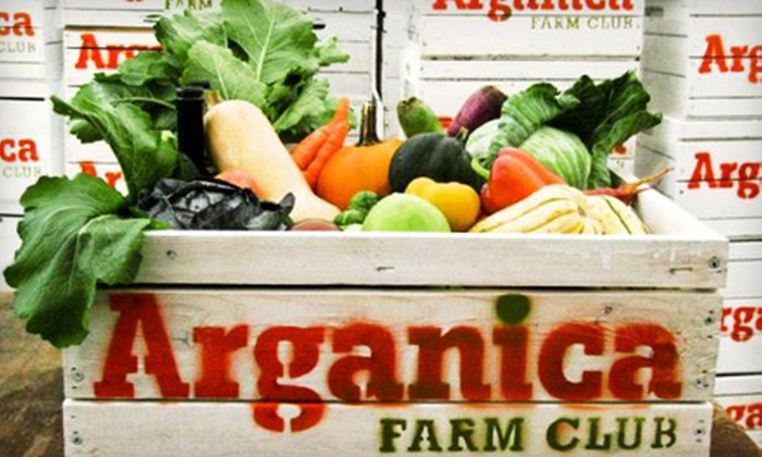 Arganica Farm Club - Mid-Town Belvedere: One-, Three-, or Six-Month Membership with Fresh Produce from Arganica Farm Club