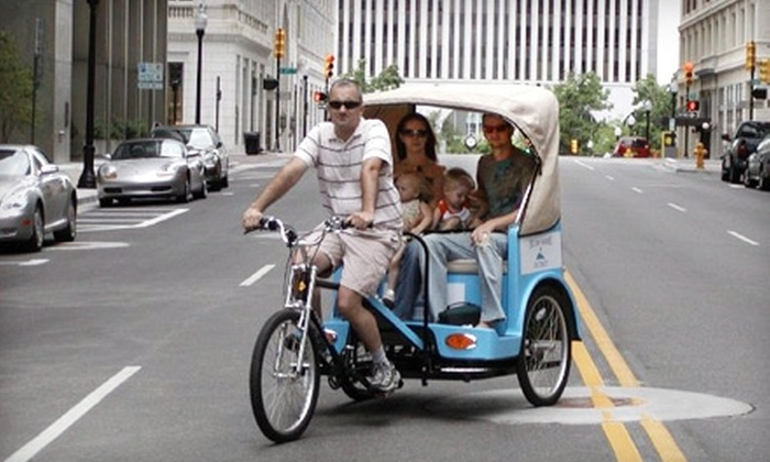 Golzern Pedicabs - East Village: $75 for a Pedicab Restaurant Tour of Downtown Tulsa for Two from Golzern Pedicabs ($250 Value)