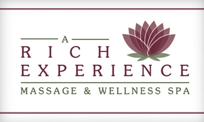 A Rich Experience Massage & Wellness Spa - Tucson: $75 for a Tucson Peaceful River Walk Massage Package at A Rich Experience Massage & Wellness Spa