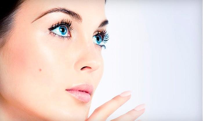 La Spa Ligonier - Ligonier: $45 for a Custom Facial and Eyebrow Touchup Waxing Services at La Spa Ligonier in Ligonier ($95 Value)