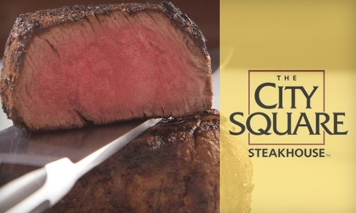 The City Square Steakhouse - Wooster: $20 for $40 Worth of Upscale Fare & Drinks at The City Square Steakhouse