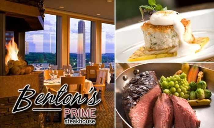 Benton's Prime Steakhouse - Crown Center: $30 for $60 Worth of Fine Dining at Benton's Prime Steakhouse