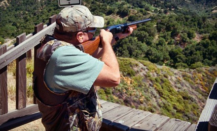 Clay-Shooting Package for 2 People (a $120 value) - Oak Tree Gun Club in Newhall