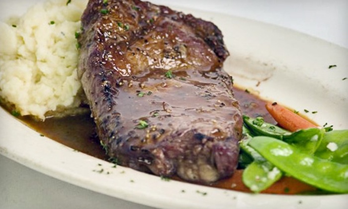 Vernon's Hidden Valley Steakhouse - Alamedan Valley: $40 for $80 Worth of Steak and Seafood at Vernon's Hidden Valley Steakhouse