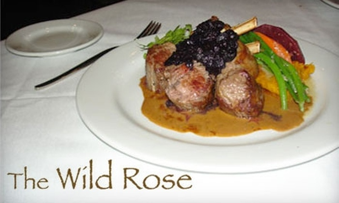 The Wild Rose - The District: $25 for $50 Worth of Upscale American Cuisine at The Wild Rose