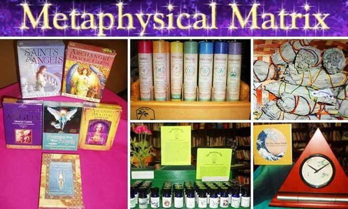 Metaphysical Matrix - Greenway/ Upper Kirby: $15 for $35 Worth of Eclectic Items at Metaphysical Matrix