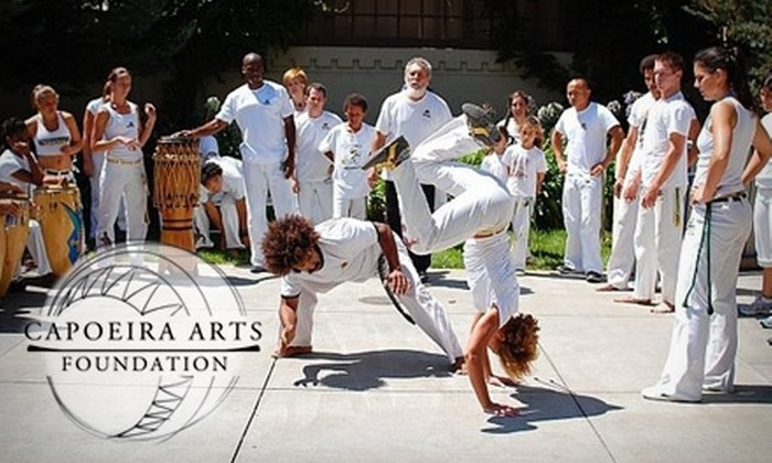 Capoeira Arts Foundation - Northwest Berkeley: $25 for a Month of Unlimited Intro Classes at Capoeira Arts Foundation ($120 Value)