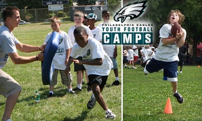 Philadelphia Eagles Youth Football Camps - Multiple Locations: $165 for a One-Week Philadelphia Eagles Youth Football Camp. Choose One of Nine Sessions.