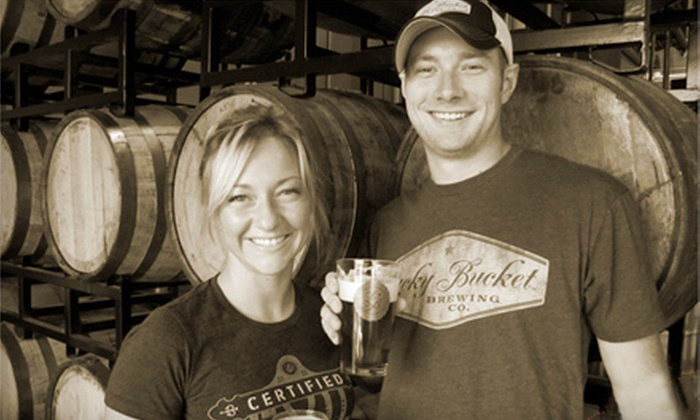 Lucky Bucket Brewing Company - Papillion Second I: $15 for a Brewery Tour for Two, Tasting, and a $25 Gift Certificate at Lucky Bucket Brewing Company in La Vista ($31 Value)