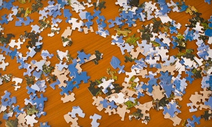 Jigsaw Java - Centennial: $10 for $20 Worth of Puzzle-Building Time at Jigsaw Java in Redwood City