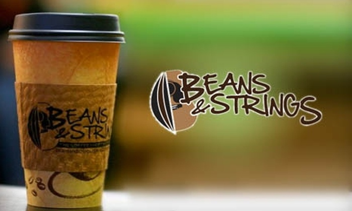 Beans & Strings - Moultrie: $4 for $8 Worth of Coffee and Pastries at Beans & Strings