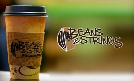 $8 Groupon to Beans & Strings - Beans & Strings in Moultrie