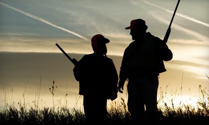 Elk Creek Hunt Club - Owenton: Clay-Shooting With Cart Rental and Meal for Two at Elk Creek Hunt Club in Owenton