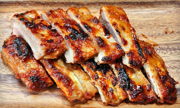 Bay City Smokehouse - Lombardi: $10 for $20 Worth of Barbecue and American Fare at Bay City Smokehouse