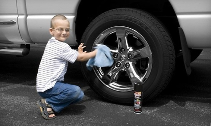 Fukken Wax: $12 for Two Cans of Euro-Style Auto Wax and Microfiber Polishing Cloth from Fukken Wax Online ($30 Value)